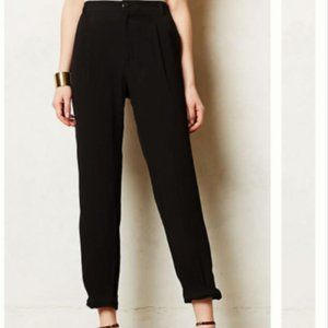 NWOT Anthro Elevenses Knotted Cropped Pant 10P